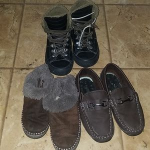 BUNDLE 3  BOYS SHOES
